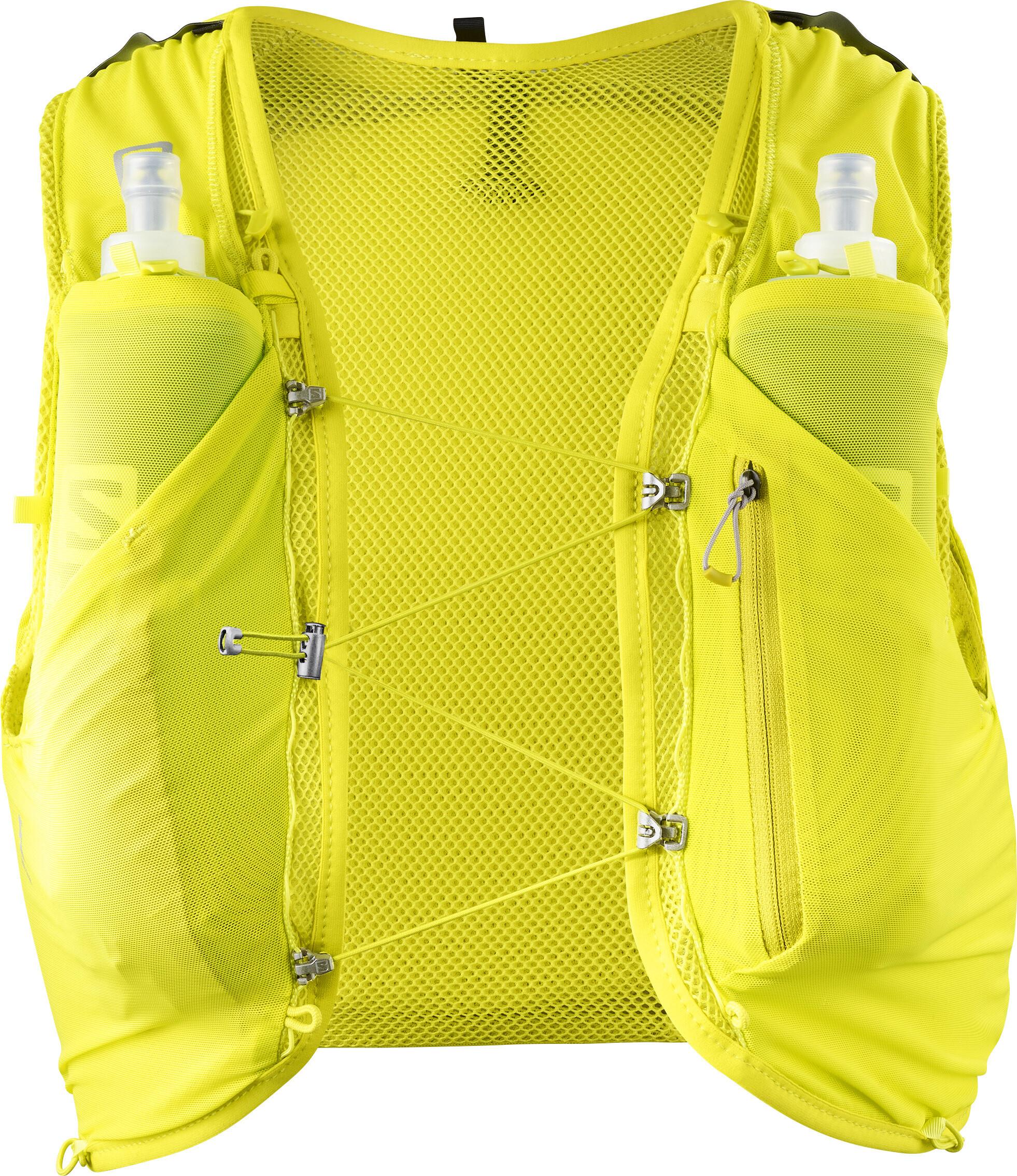 afcaac5c77 Salomon Adv Skin 5 Backpack Set sulphur spring/citronelle